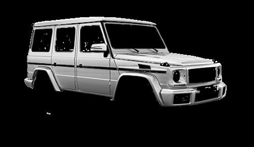Цвета кузова G-Class (W463)